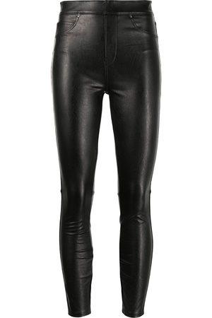 Spanx Pantalones pitillos Like Leather de talle alto