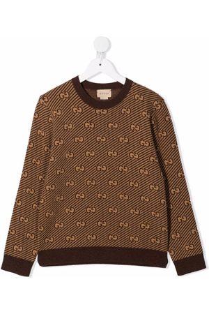 Gucci Kids Suéter tejido con monograma