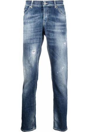 Dondup Jeans rectos con tiro medio