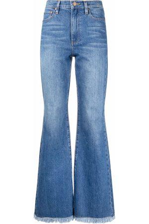 ALICE+OLIVIA Jeans acampanados con tiro alto