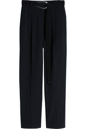 Victoria Victoria Beckham Mujer Pantalones y Leggings - Pantalones de tejido seersucker