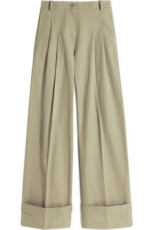 Victoria Victoria Beckham Pantalones chino con tiro alto