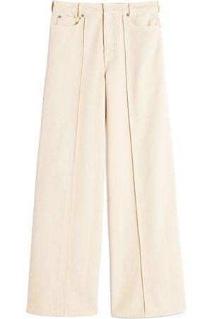 Victoria Victoria Beckham Jeans anchos con tiro alto