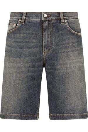 Dolce & Gabbana Shorts de mezclilla con efecto degradado