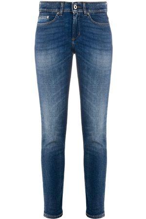 Dondup Mujer Skinny - Jeans slim de tiro bajo Monroe