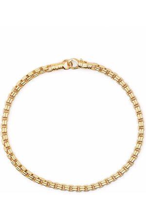 TOM WOOD Pulseras - Pulsera veneciana en plata de ley bañada en oro