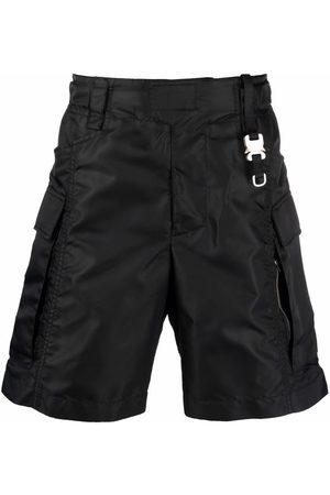1017 ALYX 9SM Hombre Bermudas - Shorts cargo con logo estampado