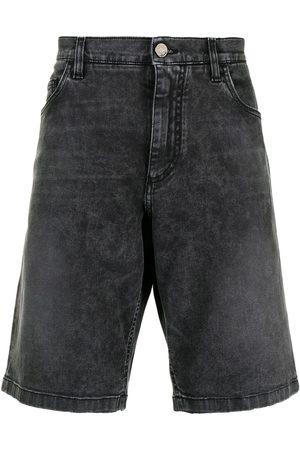 Dolce & Gabbana Pantalones vaqueros cortos con efecto lavado