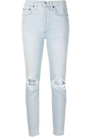 RE/DONE Jeans capri con tiro alto 1990
