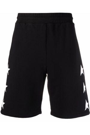 Golden Goose Pantalones cortos con estampado de estrellas