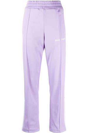 Palm Angels CLASSIC TRACK PANTS LILAC WHITE