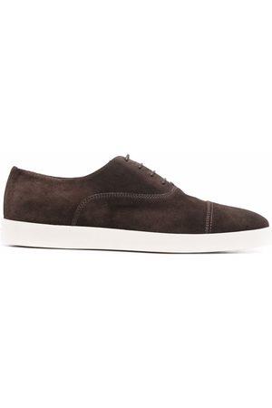 santoni Zapatos oxford de ante