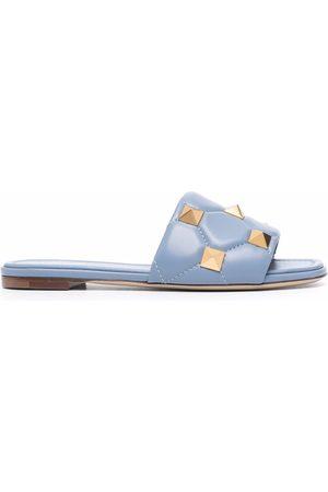 VALENTINO GARAVANI Mujer Planas - Roman Stud flat sandals