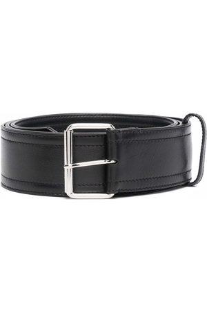 Alexander McQueen Hombre Cinturones - Cinturón con correa de cuero