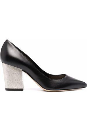 Sergio Rossi Mujer Pumps - Nappa Seventy block-heel pumps