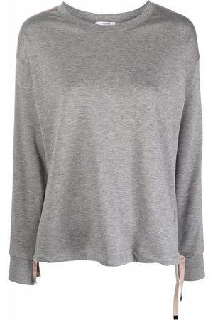Peserico Side-stripe glittered sweatshirt
