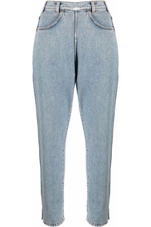 Serafini Cropped denim jeans