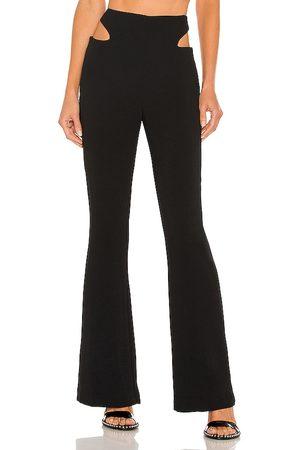 h:ours Pantalón chardonnay en color talla L en - Black. Talla L (también en XXS, XS, S, M, XL).