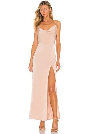 NBD Vestido largo lila en color nude talla L en - Nude. Talla L (también en XXS, XS, S, M, XL).