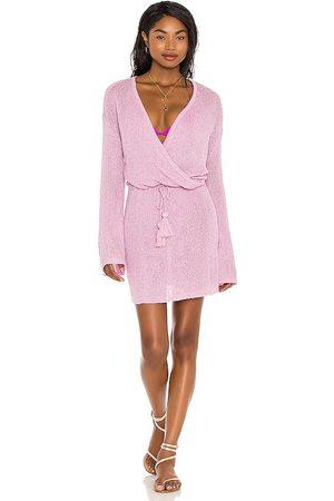 L*Space Vestido topanga en color lavanda talla L en - Lavender. Talla L (también en S, XS, M).