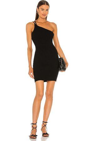 525 Vestido braided en color talla L en - Black. Talla L (también en S, XS, M).