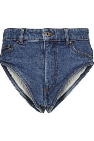 Y / PROJECT Denim shorts