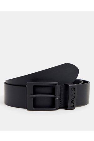 Levi's Ashland leather belt in black