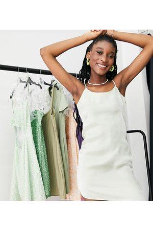 Daisy Street Mini cami dress in iridescent
