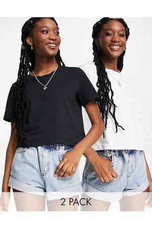 Pieces 2 pack cropped t