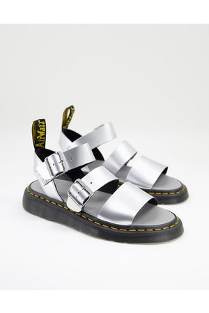 Dr. Martens Gryphon sandals in silver