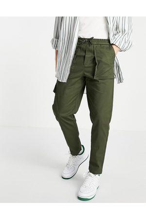 SELECTED Cargo trouser in khaki