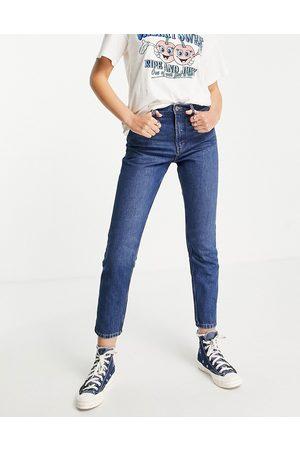 Monki Mom jeans in blue