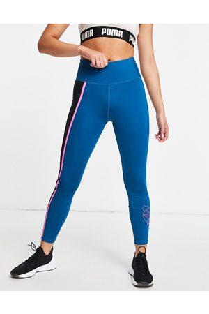 Puma Train high rise leggings in blue