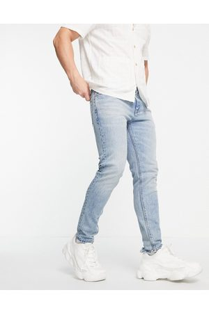 ASOS Cone Mill Denim skinny fit 'American classic' jeans in vintage mid wash