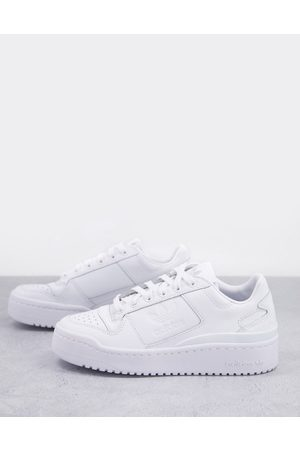 adidas Mujer Deportivos - Forum Bold trainers in triple white