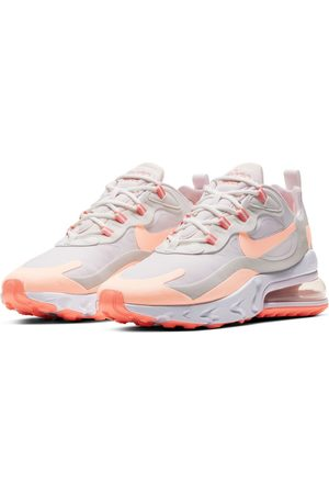 Nike Air Max 270 React trainers in pastel