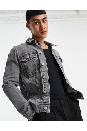 ASOS Skinny denim jacket in grey