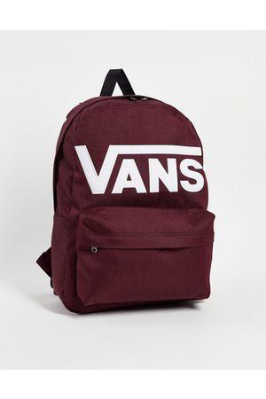 Vans Hombre Mochilas - Old Skool Drop V backpack in burgundy