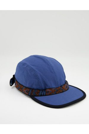 Kavu Organic Strap cap in blue