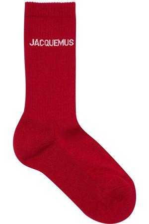 JACQUEMUS Calcetines Les Chaussettes De Algodón