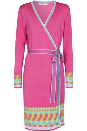 Diane von Furstenberg Mujer Midi - Aurora knit midi dress