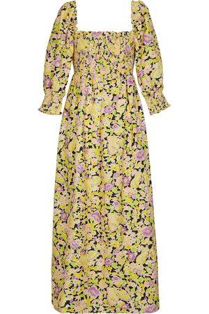 RIXO London Floral printed maxi dress