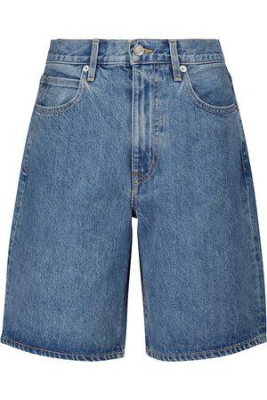 SLVRLAKE Low-rise denim shorts