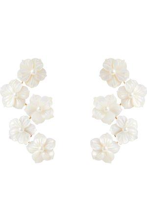 Jennifer Behr Mujer Aretes - Mari floral earrings