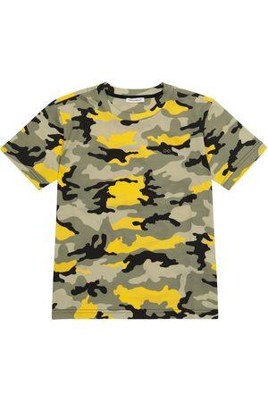 Dolce & Gabbana Camouflage jersey T-shirt
