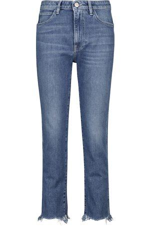 3x1 W2 straight-leg jeans