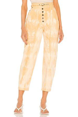 ULLA JOHNSON Apollo jean en color nude talla 0 en - Nude. Talla 0 (también en 2, 4, 6, 8).