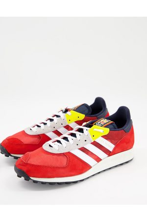 adidas TRX Vintage trainers in collegiate red