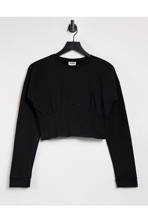 Noisy May Mujer Tops - Cropped seam detail t