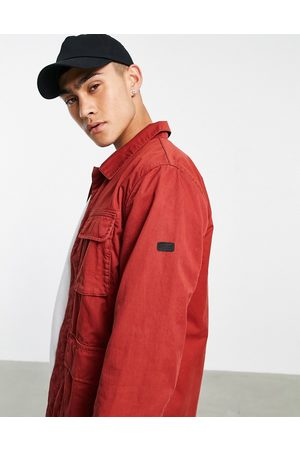 Barbour Dion casual jacket in red
